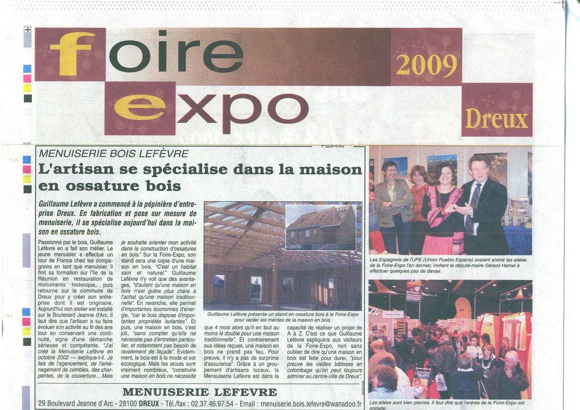 article foire exposition à Dreux