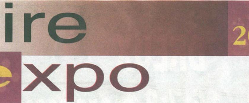Article en 2009 durant la foire exposition à Dreux